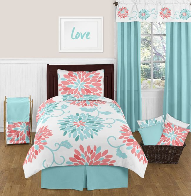 25 Best Ideas About Coral Bedding On Pinterest Mint