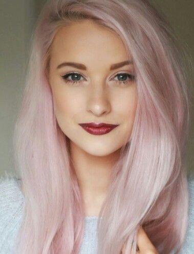 pastel pink hair color hair colour pinterest pastel my hair and pastel pink hair
