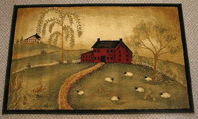1000 Images About Primitive Rugs On Pinterest Red Rugs Facebook And Jute