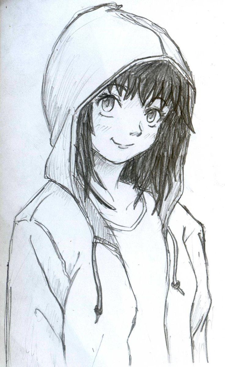 Hoodie Girl by diyanahnadzree on DeviantArt Art