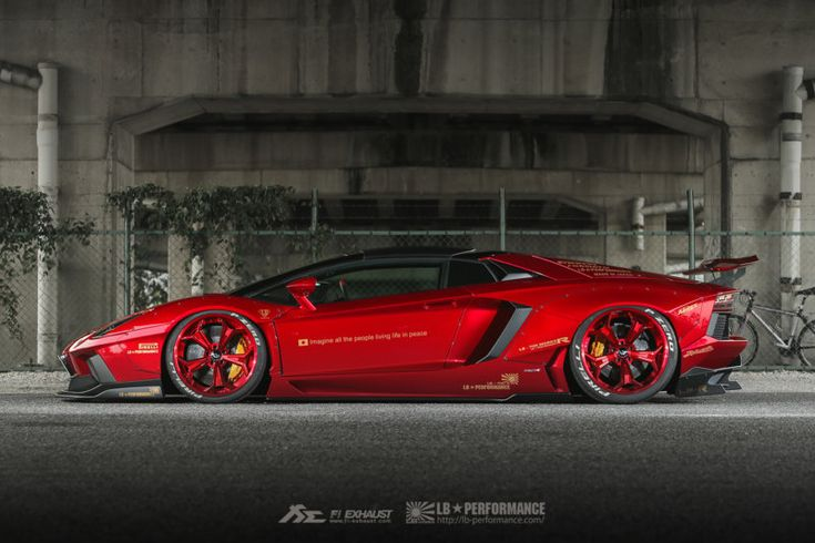 The Bloody Red Liberty Walk Lamborghini Aventador In 11