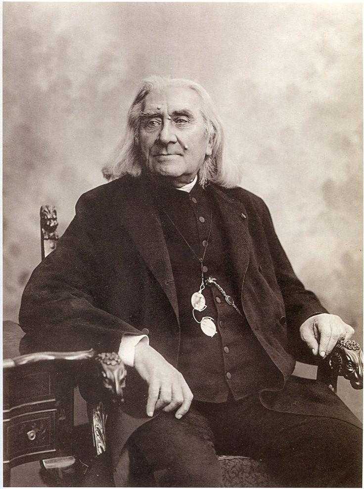 Franz, Ritter von Liszt (18111886), photograph (1886), by