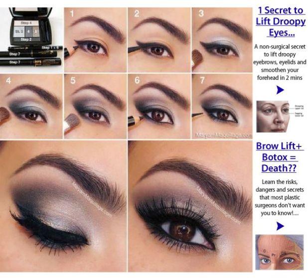 Makeup Tutorial For Sagging Eyelids Makeupview