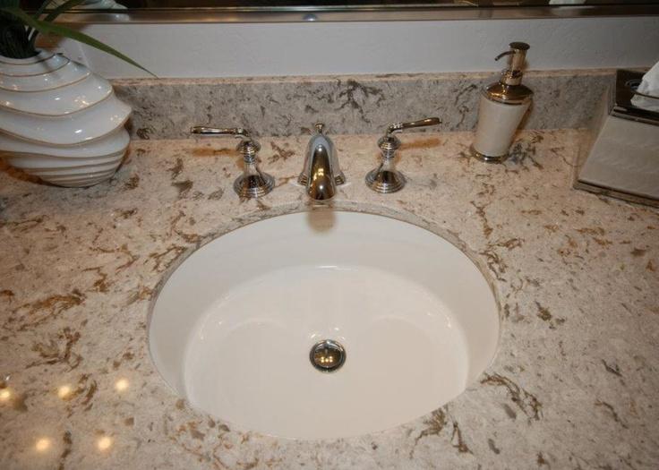 Cambria Quartz Windermere With Kohler Verticyl Oval Sink