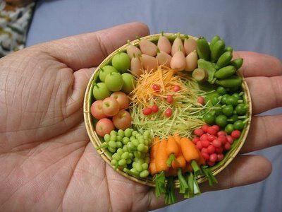 Minature food platter