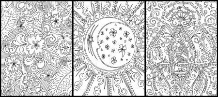 Difficult Coloring Pages For Adults To Download And Print For Free ... | 201x450