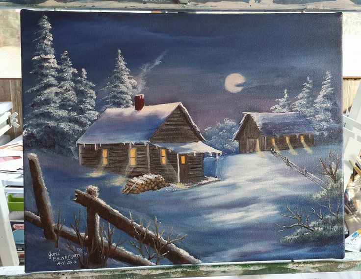 Painted By Me Using Dorothy Dent Directions Oil Painting