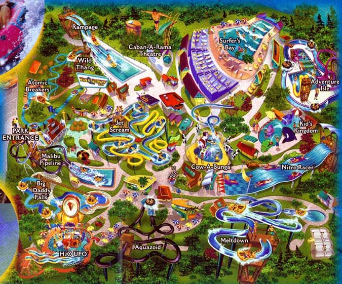 Water Country USA Williamsburg VA Where I once worked and