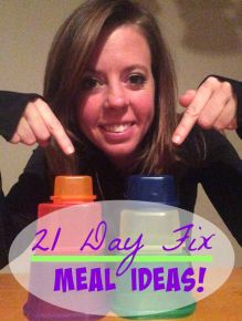 ::: 21 Day Fix Meal Ideas ::: #21DayFix #Meals #Health --- great meal & snack ideas that are 21 Day Fix approved (with container breakdown!)