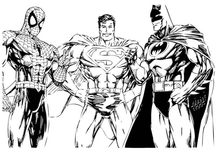 coloring pages superhero and coloring on pinterest