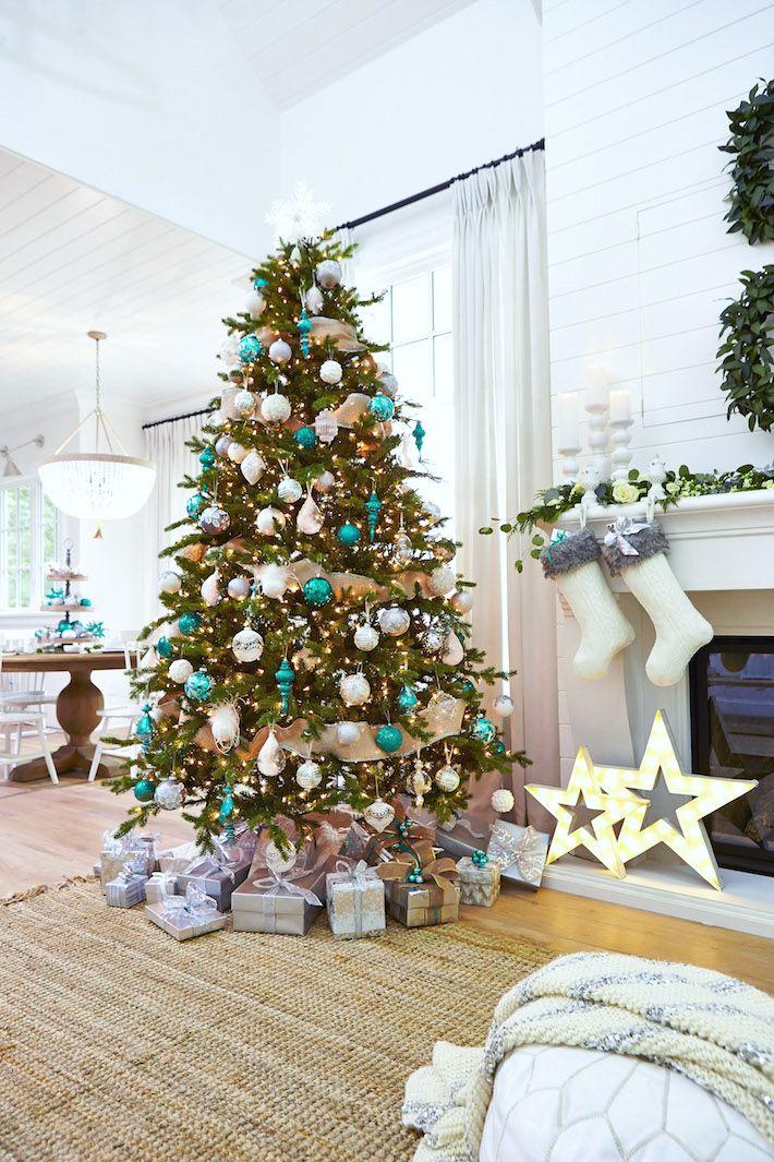 Best 25 Teal Christmas Tree Ideas On Pinterest Teal