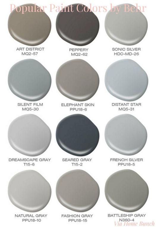 Best Behr Paint Colors behr paints colors   home painting