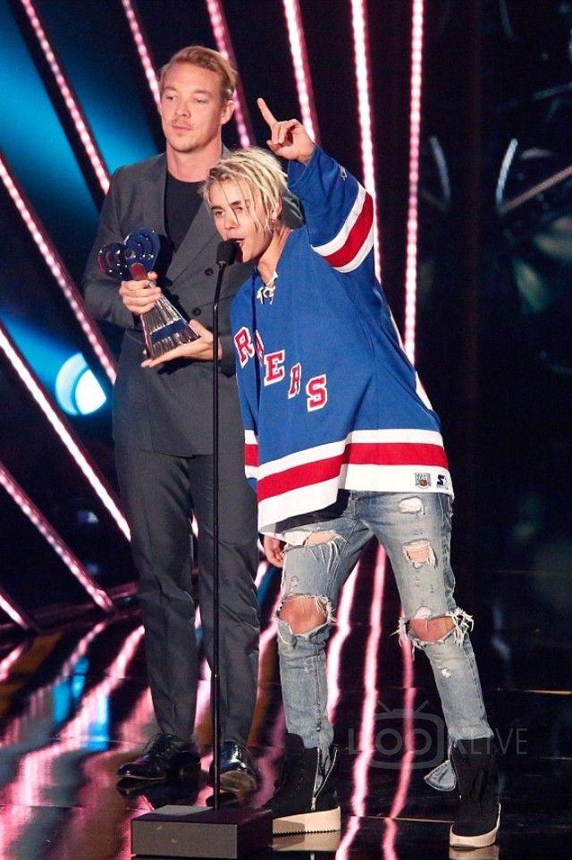 NHL New York Rangers Long Sleeve Jersey TShirt Indigo