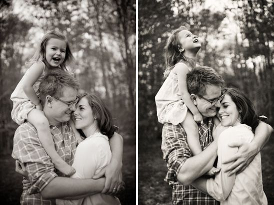 The first one would be adorable with Christopher on Roberts shoulders and Owen i