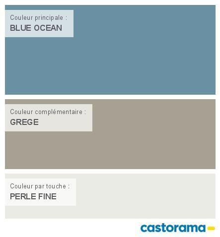 Castorama Nuancier Peinture Mon Harmonie Peinture BLUE