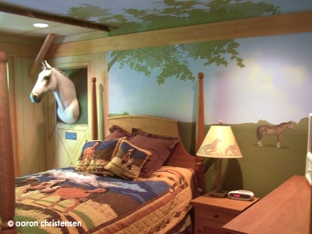 28 Best Images About Girls Horse Bedroom Ideas On