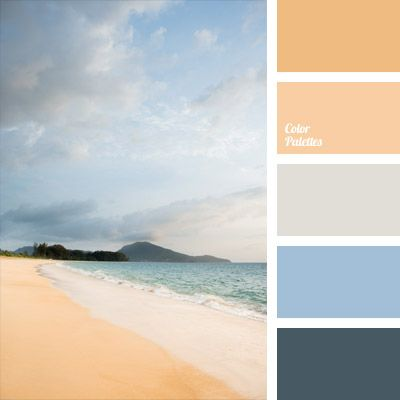 Harmonious Combination Of Natural Pastel Blue Gray And