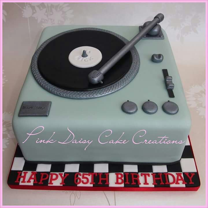 Record Player Cake Another Birthday Theme Pinterest
