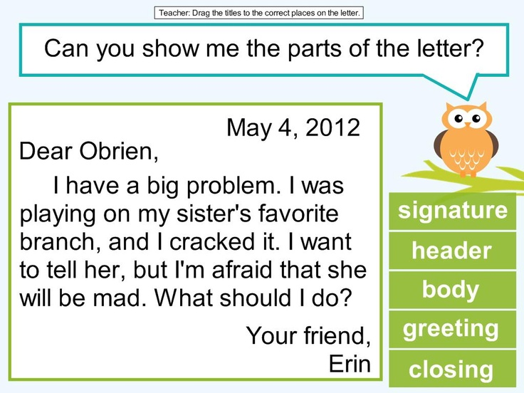 2nd grade friendly letter lesson Writing Grade 2