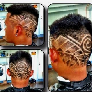 haircuts samoan designs and haircut designs on pinterest