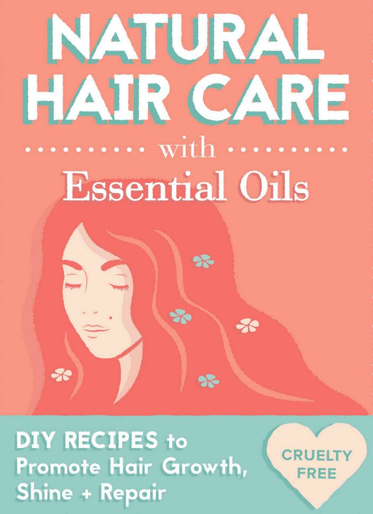 Homemade Natural Hair Care With Essential Oils DIY