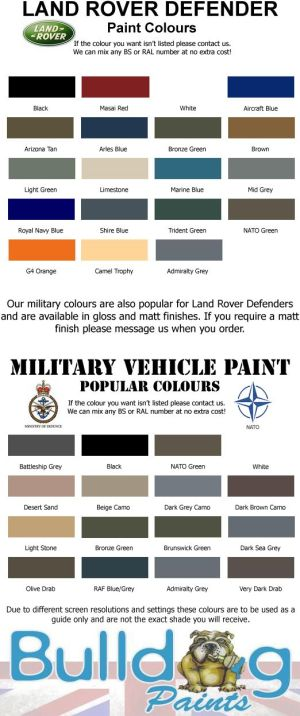 Landrover colours | Landrover | Pinterest | Search, Land