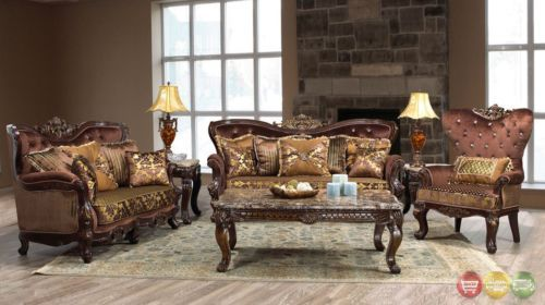 Details About Opulent Traditional Ornate Sofa Love Seat