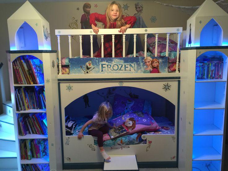 Frozen Princess Castle Bunk Bed Woodworking Pinterest