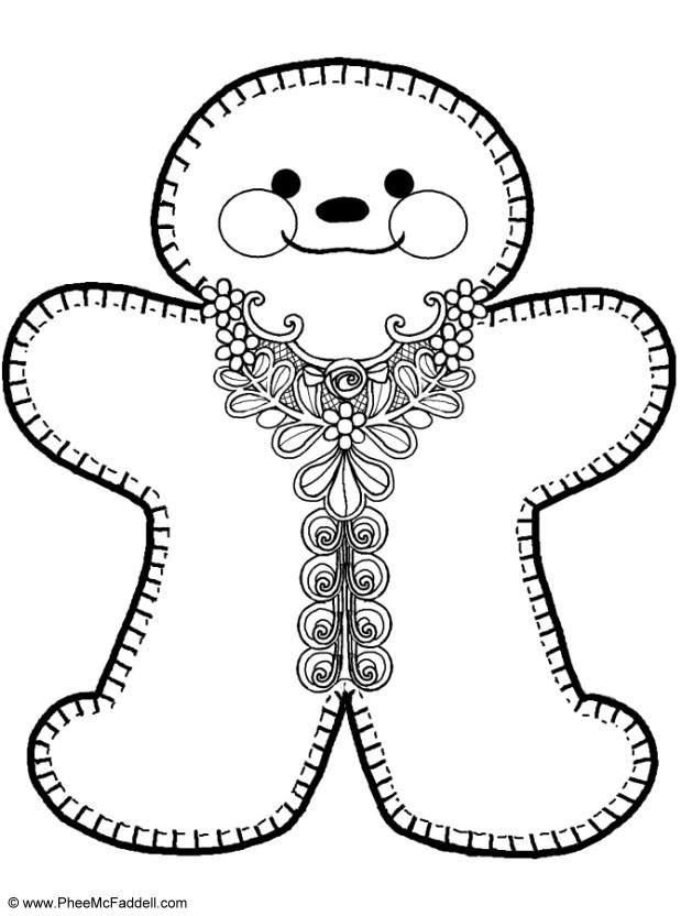 1000 ideas about gingerbread man coloring page on pinterest