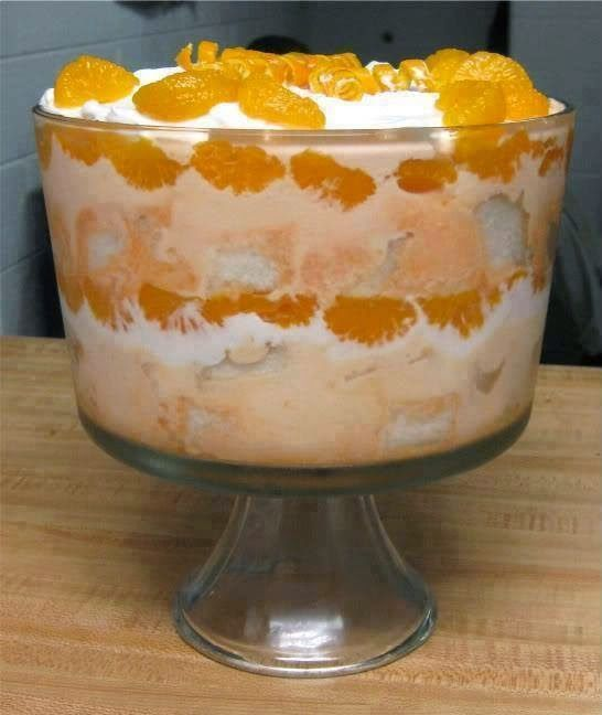 Dreamsicle Trifle Recipe Of Today Best Recipes