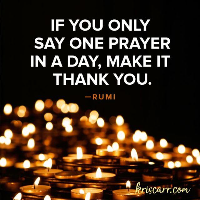 Rumi Quotes About Gratitude
