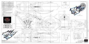 Advice On Motorcycle Frame Blueprints | Motor castom
