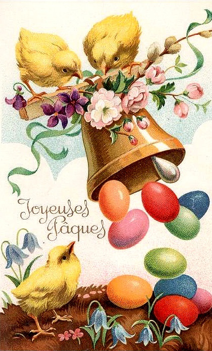 Image result for french bells dropping chocolate eggs