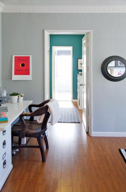 Living Room Color Is Half Moon Crest From Benjamin Moore