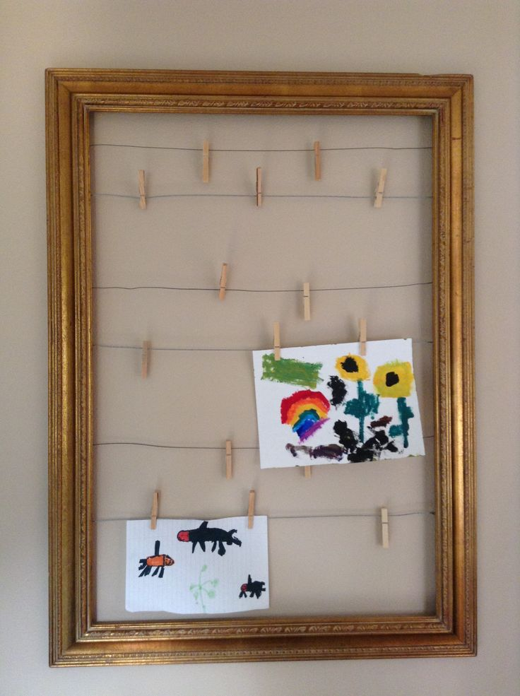 1000 Ideas About Display Kids Art On Pinterest Artwork