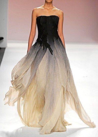 Bibu Mohaptra gown   Black Wedding Dresses: Ghoulish or Glamorous?