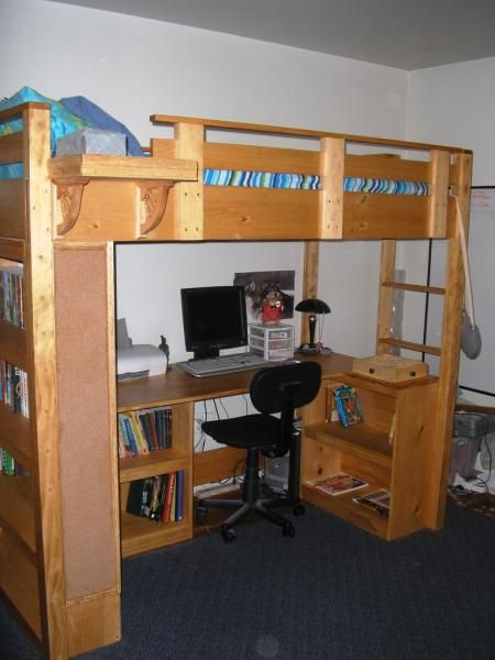 My Modified Loft Bed Do It Yourself Home Projects From