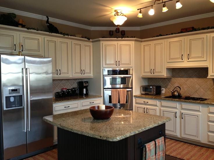 Toasted Almond Glaze Kitchen Cabinets Digitalstudiosweb Com