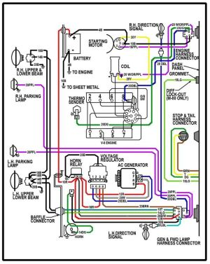 64 chevy c10 wiring diagram | Chevy Truck Wiring Diagram | 64 Chevy truck ideas | Pinterest