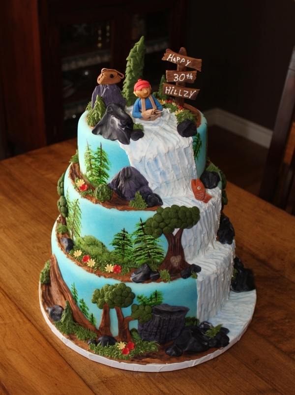 Outdoors Cake Cake Cupcake Ideas Pinterest The O