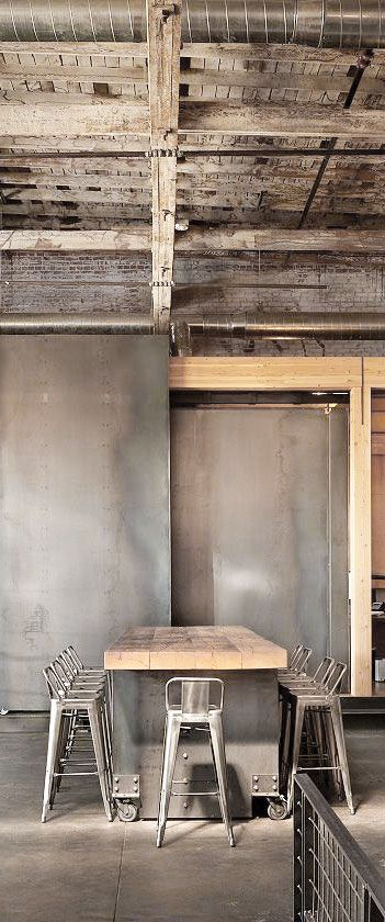Industrial Spaces . . . Home House Interior Decorating Design Dwell Furniture Decor Fashion Antique Vintage Modern Contemporary