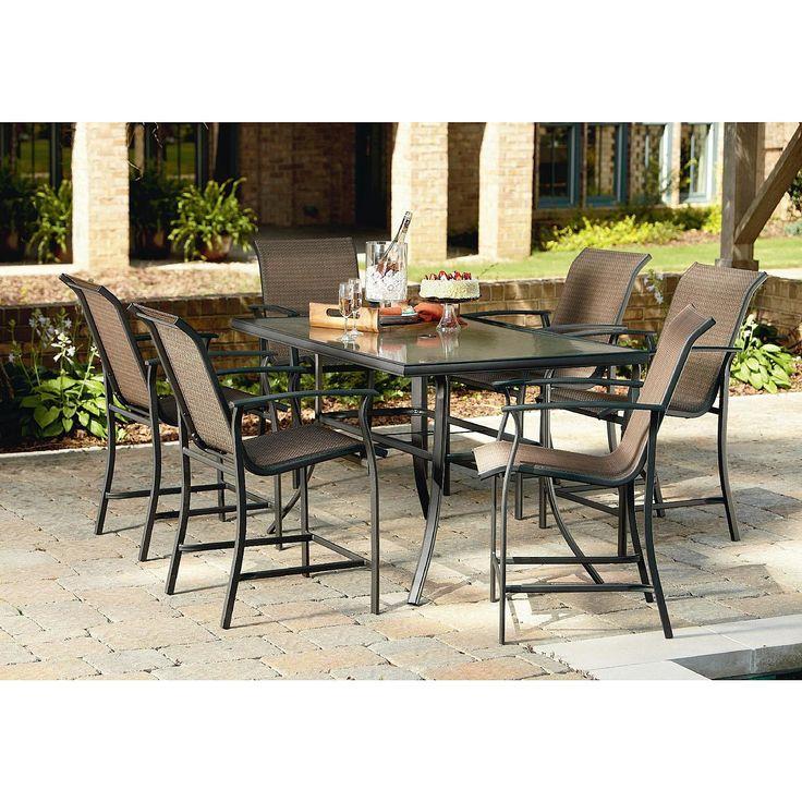 Image Result For Garden Oasis Harrison Piece Sling High Dining Set