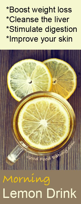 Something as simple as having a warm lemon and apple cider vinegar drink in the morning can help boost weight loss, cleanse the