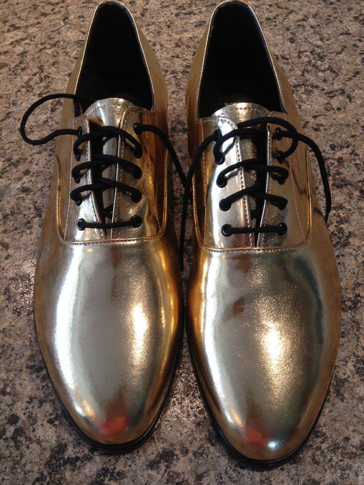 Mens gold dress shoes got gold? Pinterest Gold Dress