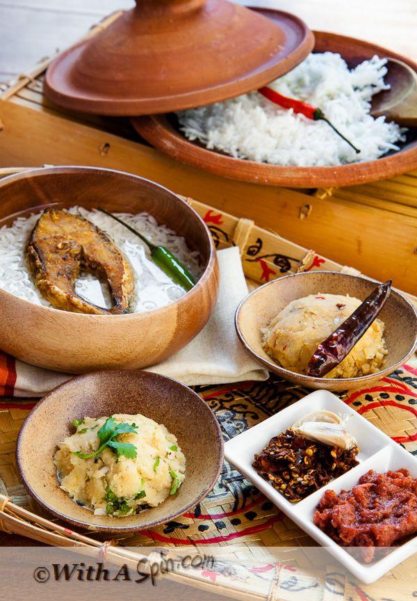 A Bengali New Year Feast Panta, Ilish Traditional, The
