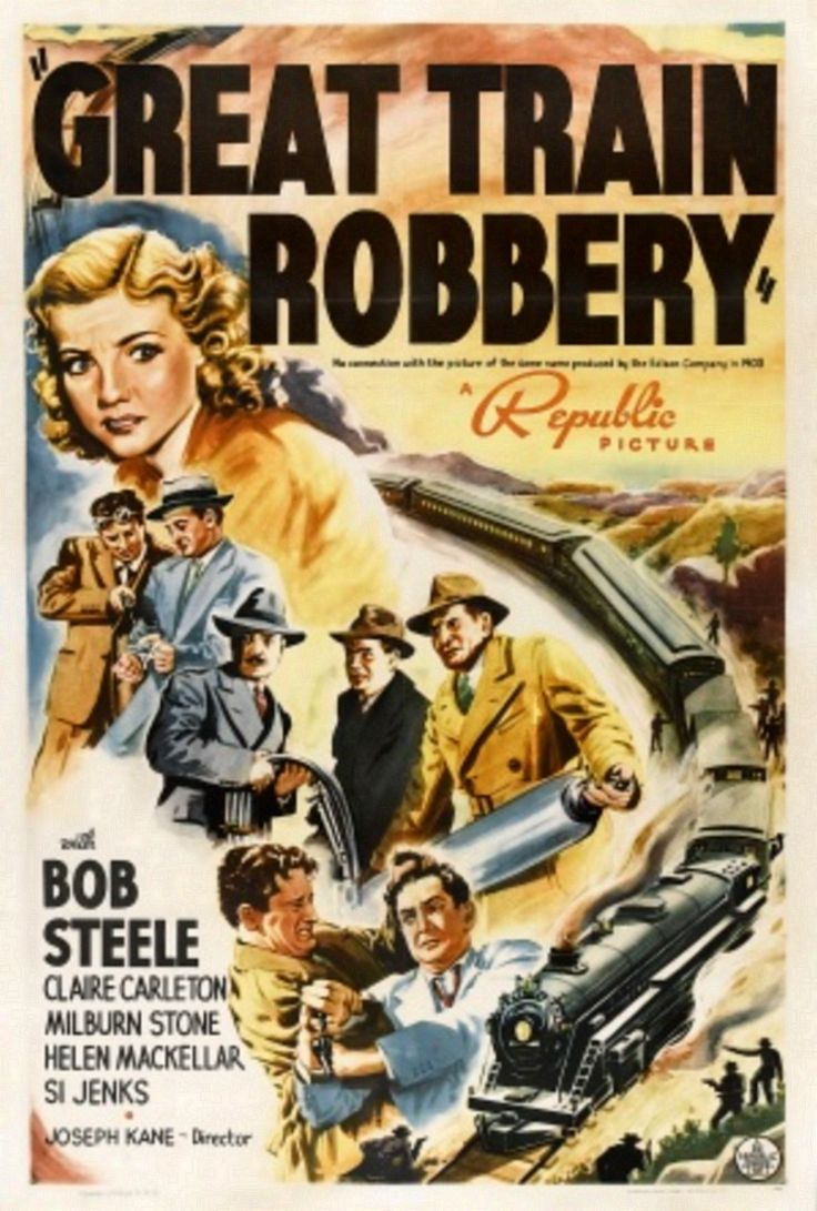 Great 587 Train Robbery Dvd