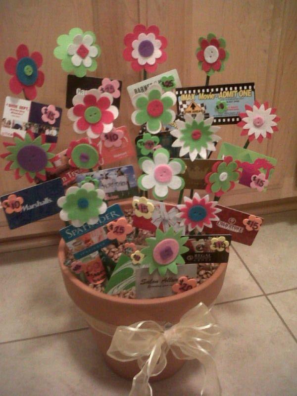 Silent Auction Gift Basket Ideas Gift Card Flower Garden