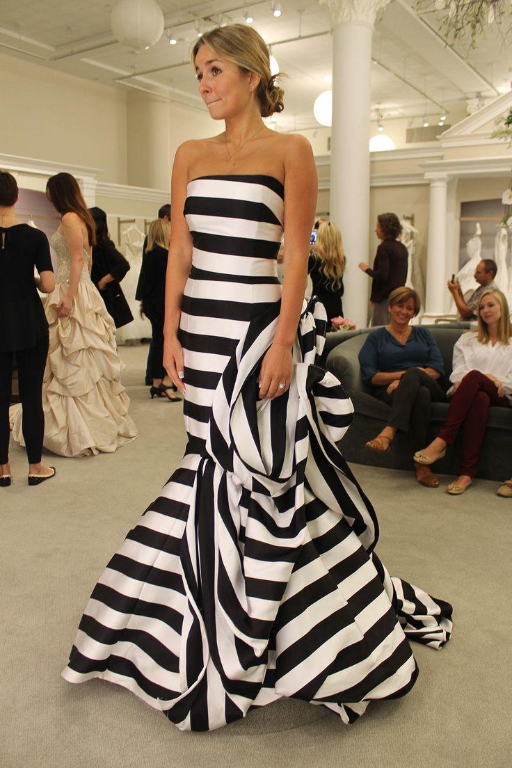Season 14 Featured Dress Antonio Riva. Black and white