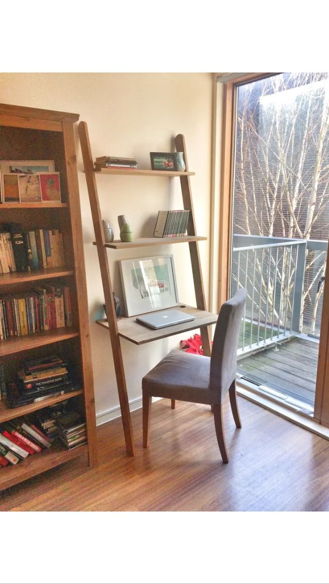 Ladder desk office Pinterest Ladder desk, Desks and