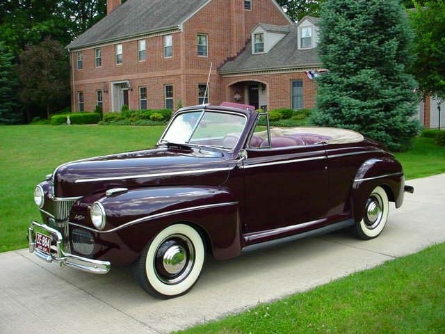 1941 Ford Super Deluxe Convertible Ford Pinterest